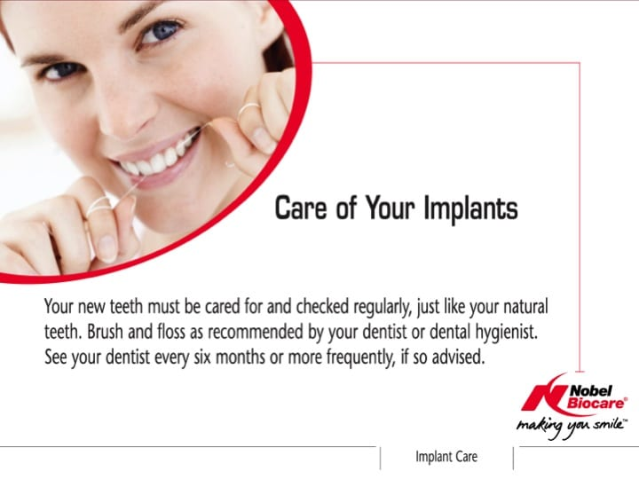 Care of Your Implants
