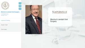 Naperville Oral Surgery Screenshot